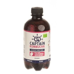 BIO Captain Kombucha California Raspberry 400 ml