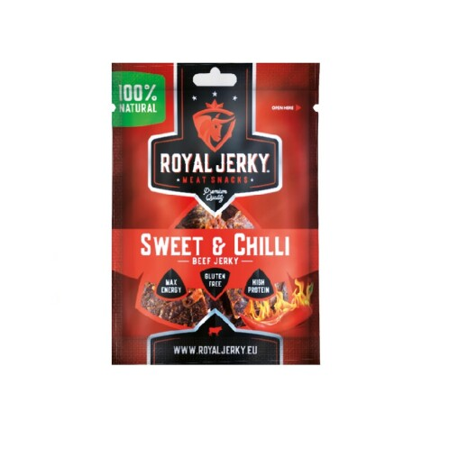 Levně Jerky beef sweet & chilli 22 g 22g