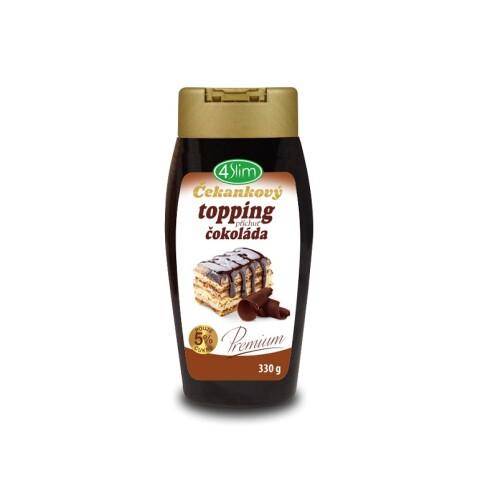 Levně Čekankový topping příchuť čokoláda 330 g 0l