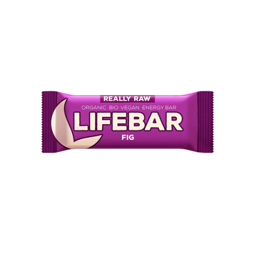 Levně BIO tyčinka fíková Lifebar 47 g 47g