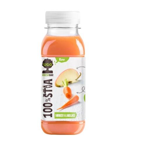 Levně Šťáva mrkev, jablko UGO 250 ml 0.25l